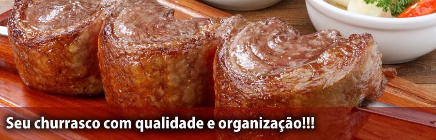 Seu churrasco com qualidade e organização